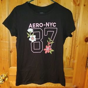 Aeropostale black short sleeve
